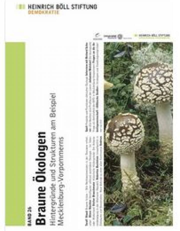 "Cover ""Braune Ökologen"""