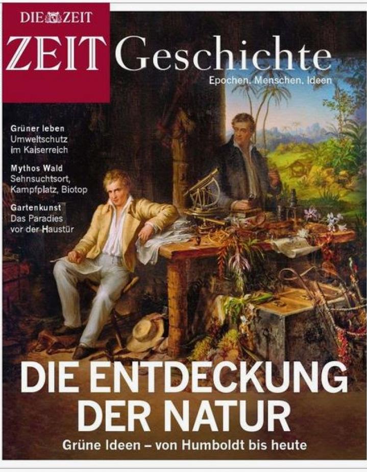 Cover der Zeitschrift ZEIT Geschichte: Entdeckung der Natur