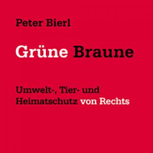"""Cover-Abbildung """"Grüne Braune"""", Unrast Verlag"""