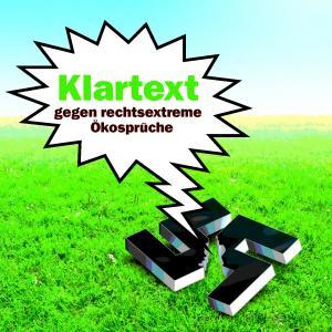 """Cover-Abbildung """"Klartext gegen rechtsextreme Ökosprüche"""""""