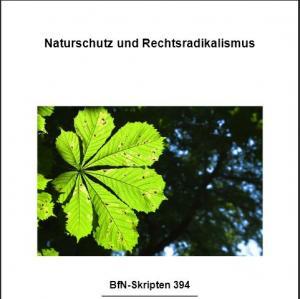 """Cover-Abbildung """"Naturschutz und Rechtsradikalismus"""", BfN-Skript"""