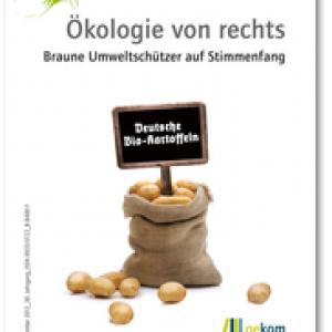 """Cover-Abbildung """"Ökologie von rechts"""", oekom verlag"""